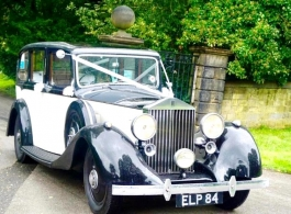 Vintage Rolls Royce for weddings in Barnsley